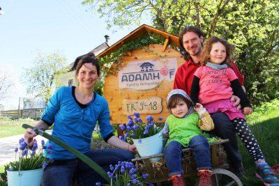 Familie Aichwalder vom Adamhof