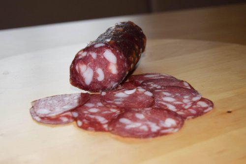 Salami vom Turopolje-Schwein