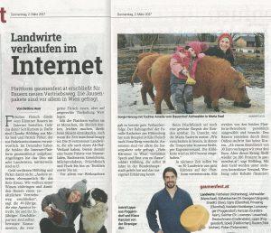 Artikel Kleine Zeitung