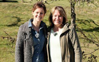Susanne Kuttnig-Urbanz und Claudia Hölbling