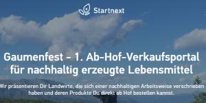 Gaumenfest-Startnext