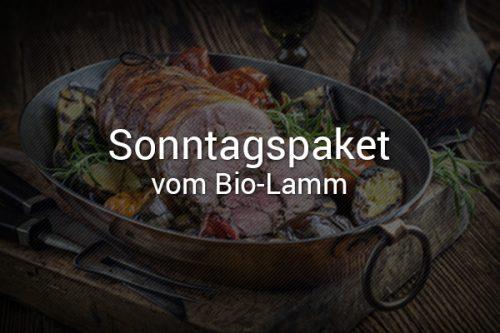 Sonntagspaket vom Bio-Lamm