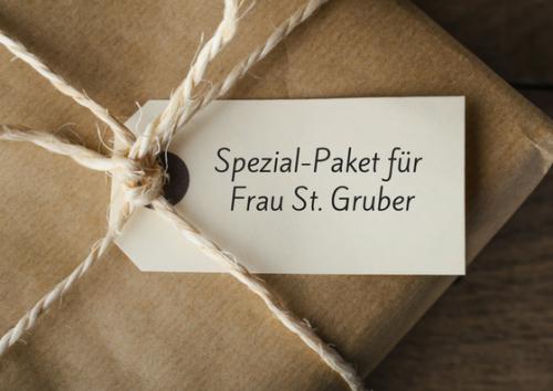 Spezialpaket Frau Gruber