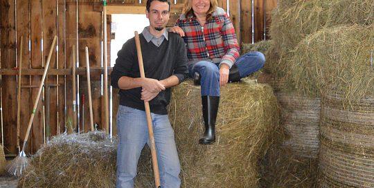 Claudia Hölbling und Patrick Pirker