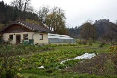 Der herbstliche Gemüsegarten des Wurzerhof