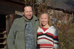 Friedrich Wohofsky und Karina Schwaiger vom Vöstlhof