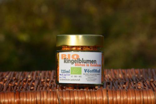 Bio-Ringelblumen