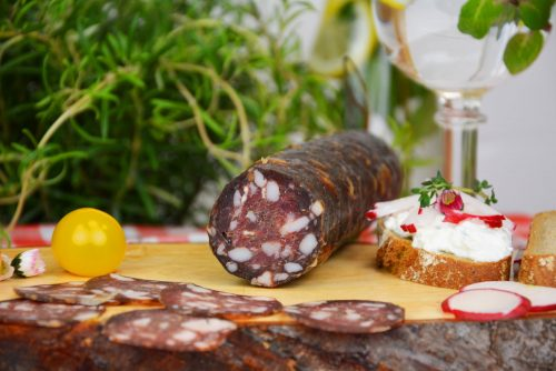 Schaf-Salami vom Bio Ratoinighof