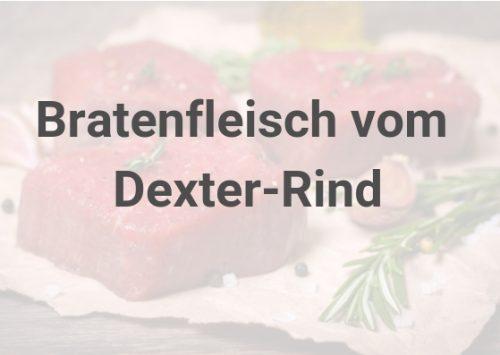 Bratenfleisch vom Dexter-Rind
