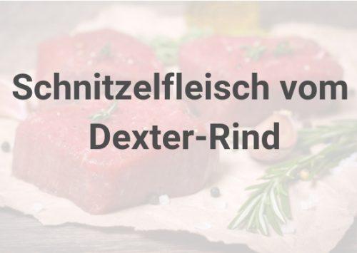 Schnitzelfleisch vom Dexter-Rind