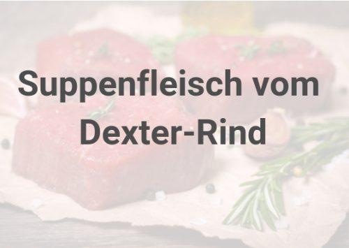 Suppenfleisch vom Dexterrind