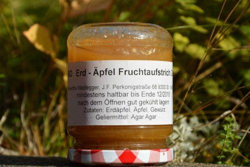 Kartoffel Apfel Fruchtaufstrich