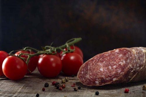 Salami vom Wollschwein Symbolbild: Adobe Stock