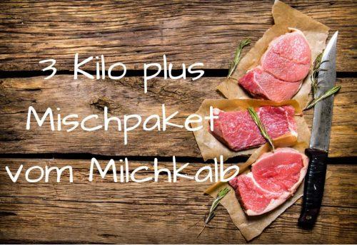 3 Kilo Mischpaket vom Milchkalb