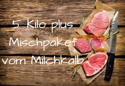 5 Kilo Mischpaket vom Milchkalb