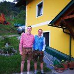 Die Brüder Johannes und Thomas Tschuitz
