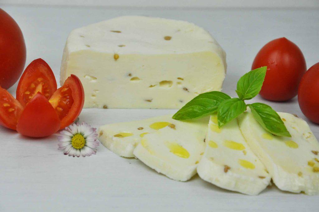 Mozzarella mit Bockhornklee