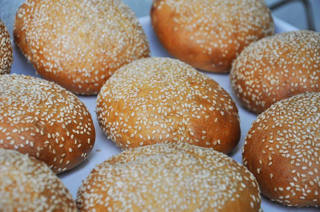 Bio Burger Brötchen der Bäckerei Nadrag