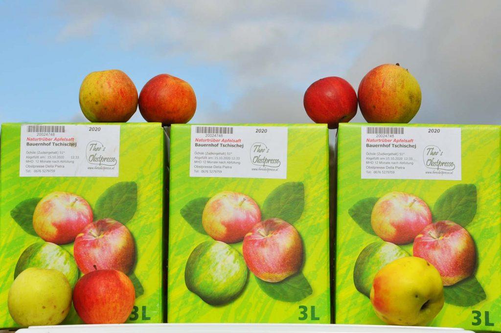 Apfelsaft naturtrüb