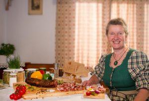 Margarete Puschitz vom Vorstand der BV Nockfleisch in Patergassen