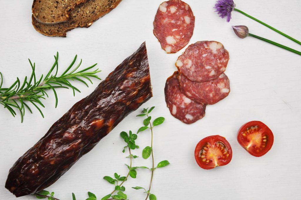 Salami vom Bauernhof Graf aus dem Lavanttal