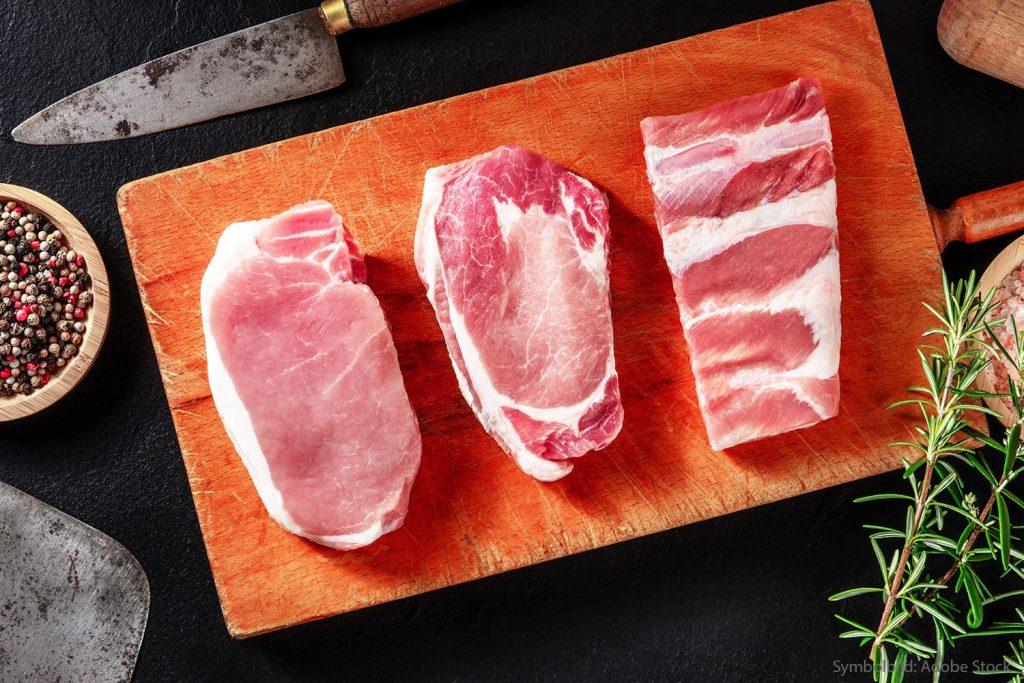 Grillfleisch vom Schwein