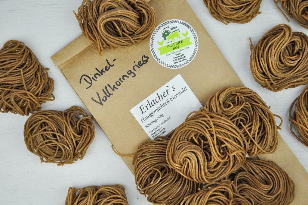 Dinkel Vollkorn Spaghetti
